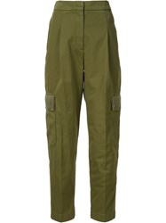 Givenchy Cargo Trousers Green
