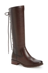 Sofft Women's 'Sharnell' Riding Boot Cafe Brown Leather