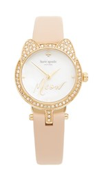 Kate Spade Meow Watch Gold