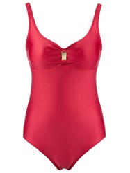 Lygia And Nanny Embellished Swimsuit Red