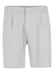 Topman Grey Smart Jersey Shorts