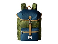 Poler Field Pack Backpack Green Camo Backpack Bags