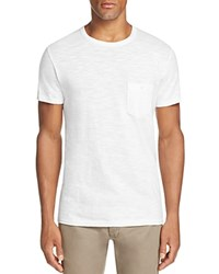 Todd Snyder Classic Pocket Tee White