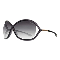 Tom Ford Ft0009 Whitney Butterfly Sunglasses Blue Grey
