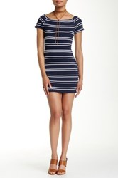 Astr Off The Shoulder Bodycon Dress Multi