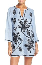 Tory Burch Women's Embroidered Cover Up Tunic