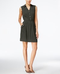 Alfani A Line Shirtdress Only At Macy's Urban Olive