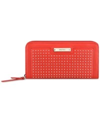 Nine West Pretty Little Things Zip Around Wallet Dynasty Red