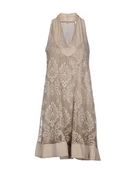 La Fee Maraboutee Dresses Short Dresses Women Beige
