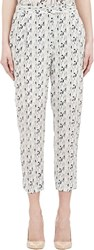 Barneys New York Cora Trousers White Size 6 Us