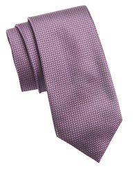 Vince Camuto Textured Silk Tie Berry