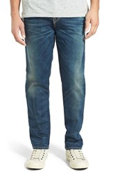 True Religion Men's Big And Tall Brand Jeans 'Geno' Straight Fit Jeans Dfnm Dusty Rider