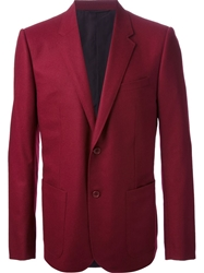 Balenciaga Formal Blazer Red