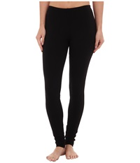Splendid French Terry Legging Black Women's Casual Pants