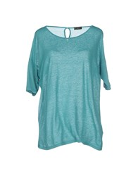 Fred Perry Topwear T Shirts Women Deep Jade
