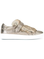Moncler 'Lucie' Sneakers Nude And Neutrals