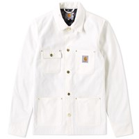 Carhartt Michigan Chore Coat White
