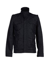 Marville Coats And Jackets Jackets Men Dark Blue