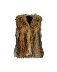 Unreal Fur Coats And Jackets Faux Furs Women Beige