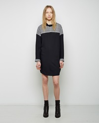 3.1 Phillip Lim Fringe Turtleneck Dress