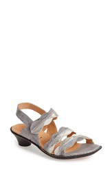Think 'Soso' Leather Slingback Sandal Women White