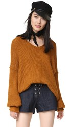 Free People All Mine Sweater Terracotta