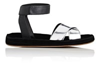 Barneys New York Women's Leather And Suede Ankle Strap Sandals No Color
