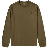 Polo Ralph Lauren Long Sleeve Custom Fit Crew Tee Green