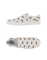 Undercover Low Tops And Trainers White