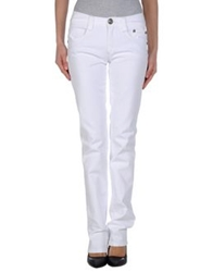 Carlo Chionna Denim Pants White