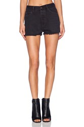 Res Denim Wanda Cut Off Short Black