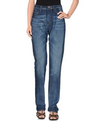 Love Moschino Denim Denim Trousers Women Blue