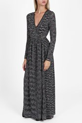 Missoni Lame Wrap Dress Multi