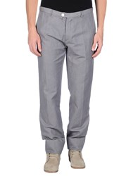 J.W. Tabacchi Trousers Casual Trousers Men Grey