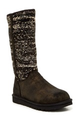 Camaya Sequin Uggpure Lining Boot Black