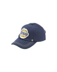 Frankie Morello Hats Dark Blue