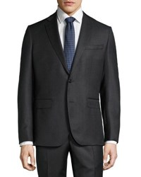 Mason Two Piece Dotted Suit Gray