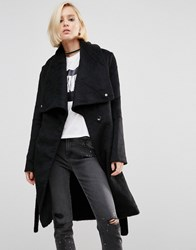 Religion Revelation Trench Coat Black