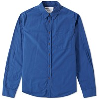 Mhl By Margaret Howell Mhl. Slim Work Shirt Blue
