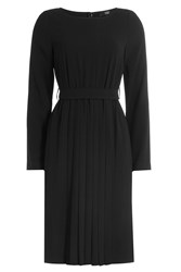 Steffen Schraut Dress With Pleated Skirt Black