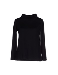 Alpha Massimo Rebecchi Turtlenecks Black