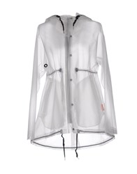 Hunter Coats And Jackets Full Length Jackets Women Transparent