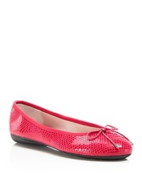 Paul Mayer Bingo Brighton Ballet Flats Pink Ray
