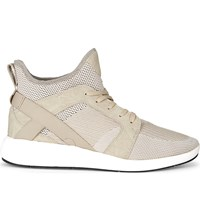 Aldo Derik High Top Trainers Beige