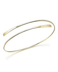 Bloomingdale's 14K Yellow Gold Polished Overlap Cuff