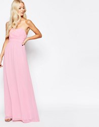 Traffic People Candy Chiffon Longing For A Prom Maxi Dress Pink