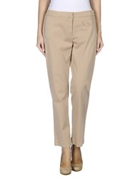 Henry Cotton's Trousers Casual Trousers Women Sand
