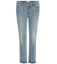 Tory Burch Cropped Jeans Blue
