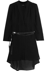 Isabel Marant Riveranew Belted Muslin Mini Dress