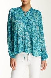 Nanette Nanette Lepore Fern Feather Weight Printed Blouse Multi